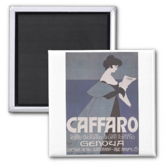 Art Nouveau ~ Caffaro Newspaper Magnet