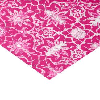 Art Nouveau Chinese Pattern - Fuschia Pink Tissue Paper