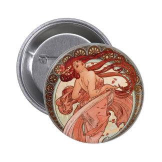 Art Nouveau - Dance 2 Inch Round Button