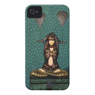 Art Nouveau dancer iPhone 4 Cases