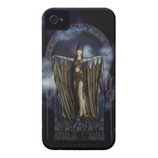 Art Nouveau dancer Case-Mate iPhone 4 Cases