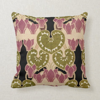 Art Nouveau Design #4 Throw Pillow