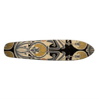 Art Nouveau Design #7 @ VictoriaShaylee Skate Board