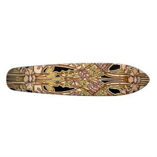 Art Nouveau Design #9 @ VictoriaShaylee Skate Board Deck