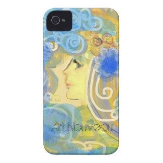Art Nouveau Design iPhone 4 Case-Mate Cases