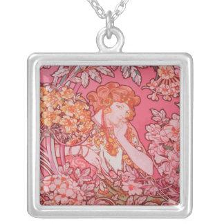 Art Nouveau design Necklace