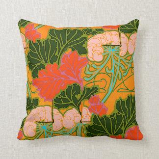 Art Nouveau Design Pillow