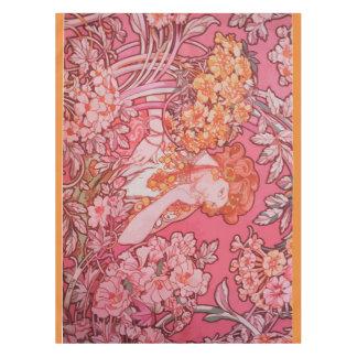 "Art Nouveau design Tablecloth, 52""x70"" Tablecloth"