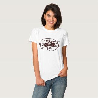Art nouveau dragon shirts