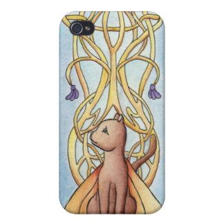 Art Nouveau Fairy Cat Cover For iPhone 4