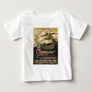 Art Nouveau fairy tale illustration cinderella Baby T-Shirt