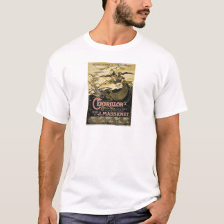 Art Nouveau fairy tale illustration cinderella T-Shirt