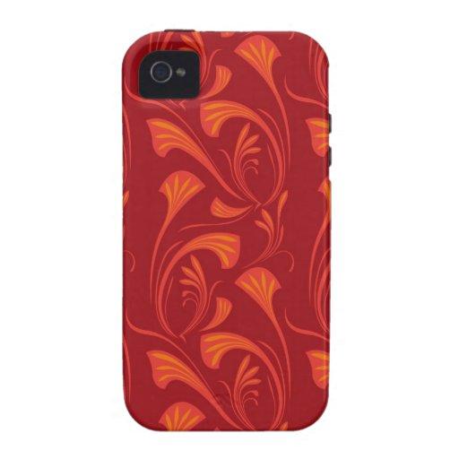 Art Nouveau Fan Case-Mate iPhone 4 Case