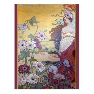 Art Nouveau Fantasy 1 Postcard