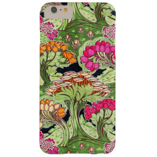 Art Nouveau Flora and Plants Barely There iPhone 6 Plus Case