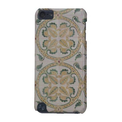Art Nouveau floral tiles iPod Touch (5th Generation) Cover