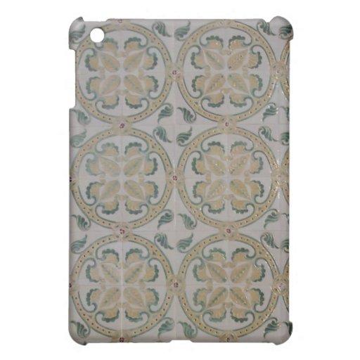 Art Nouveau floral tiles Case For The iPad Mini