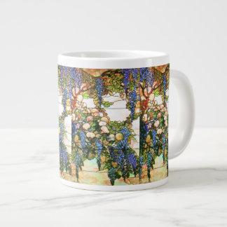 Art Nouveau Flowers Jumbo Mug