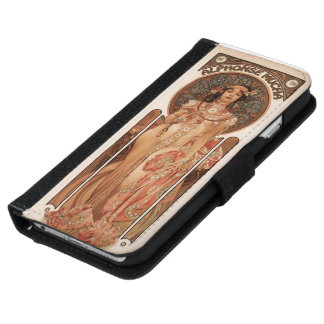Art Nouveau-Imperial by Mucha-iPhone 6 Wallet Case