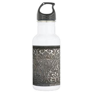 Art nouveau,jugen style,Norway,aalesund,original,m 532 Ml Water Bottle