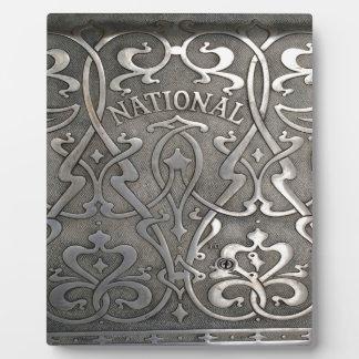 Art nouveau,jugen style,Norway,aalesund Plaque