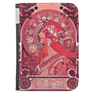Art Nouveau Kindle Case