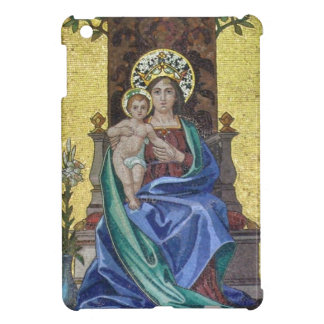 Art Nouveau Mosaic Madonna with Child iPad Mini Covers