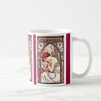 Art Nouveau Mucha Lady Mug