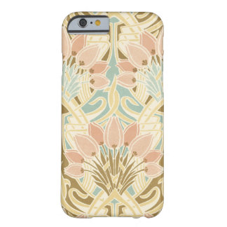 art nouveau nature floral pattern art barely there iPhone 6 case