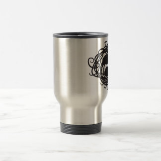 Art Nouveau Octopus Yin Yang Thermal Mug