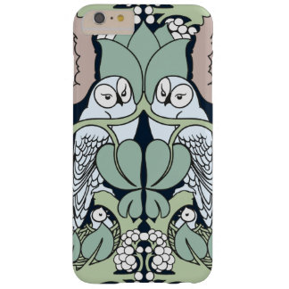 Art Nouveau Owls Nest Pattern iPhone 6 Plus Barely There iPhone 6 Plus Case