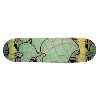 Art Nouveau pattern #10 Skate Boards