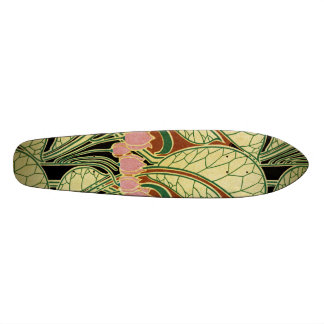 Art Nouveau pattern #1 Custom Skate Board
