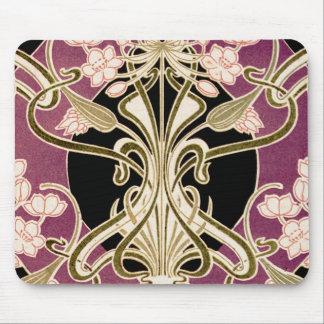 Art Nouveau pattern #2 Mouse Pad