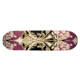 Art Nouveau pattern #2 Custom Skate Board