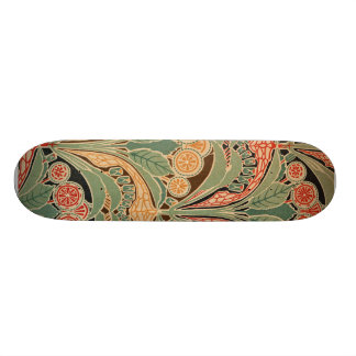 Art Nouveau Pattern #3 at Emporio Moffa Skate Boards