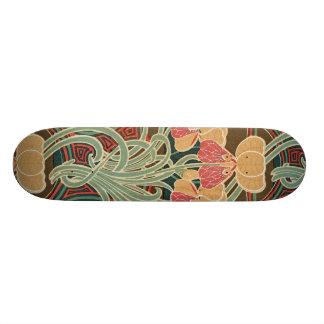 Art Nouveau Pattern #4 at Emporio Moffa Skateboard Decks