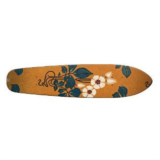 Art Nouveau pattern #7 Skateboards