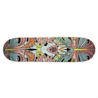 Art Nouveau pattern #8 Skate Board Deck