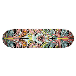 Art Nouveau pattern #8 Skateboard Deck