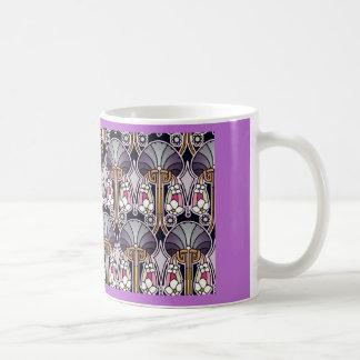 Art Nouveau Pattern Coffee Mug