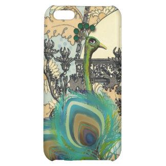 Art Nouveau Peacock Chandelier Flower iPhone Case Cover For iPhone 5C