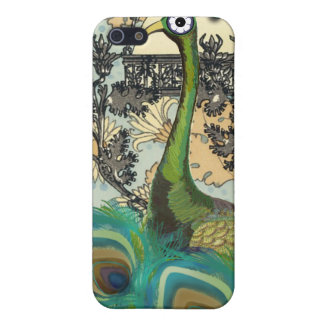 Art Nouveau Peacock Chandelier Flower iPhone Case iPhone 5/5S Covers