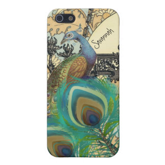 Art Nouveau Peacock iPhone 5 Case