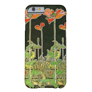 Art Nouveau Poppies 1901 Barely There iPhone 6 Case
