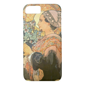 Art Nouveau Portrait 1899 iPhone 7 Case