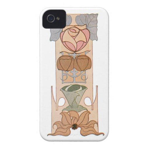 Art Nouveau Rose Blackberry Bold Case