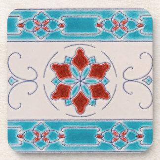 Art Nouveau's Majolica Tiles Coaster