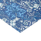 Art Nouveau Seaweed Floral, Cobalt Blue and White Tissue Paper