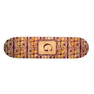 Art Nouveau Skate Deck